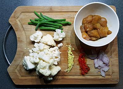 Bloemkool curry ingrediënten | Gewoon een foodblog
